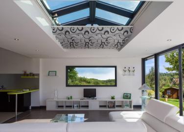 Store intérieur toiture