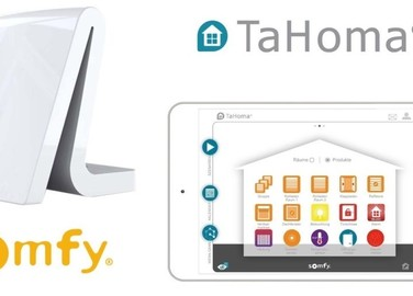 Maison connectée grâce à la box TaHoma